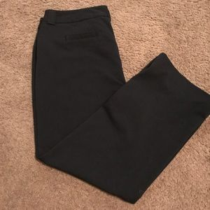 Jones New York signature stretch black slacks